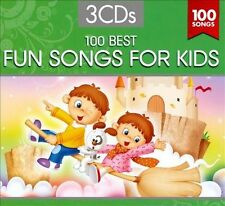 100 FUN SONGS FOR KIDS -  3 CD Set -  NEW IN SEALED BOX - 2010  - CHILDREN
