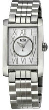 New in Box Hugo Boss Silver Dial Steel Women's Watch HB1502003 $425 Retail