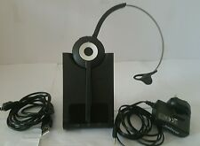 Jabra 930 PRO MS Monaural Headband PC Headset. Call Center Office