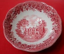 "J & G MEAKIN Romantic England  CEREAL BOWL 6 5/8"" CHECQUERS"