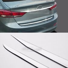 Chrome Rear Trunk Cover Garnish Moldings Set for HYUNDAI 2017 Elantra AD