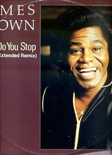 JAMES BROWN how do you stop 12INCH 45 RPM GERMAN 1986 EX
