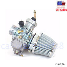 Carburetor W/ Air Filter Kit Fits YAMAHA DT175 DT 175 Enduro Carb 1979-1981