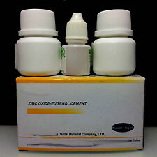 Dental Temporary crown TOOTH FILLING CEMENT KIT Zinc oxide eugenol eugenia UK
