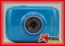"MICROCAMERA XCAM HD + ATTACCHI! 720P videocamera DISPLAY TOUCH 2"" cam moto cross"
