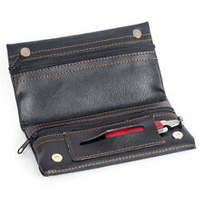Black Pipe Tobacco Bag Pouch Case Pipe Tool Pocket