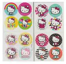 "80 Hello Kitty Mini Stickers, 1.2"" Round Each, Party Favors"