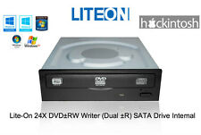 Lite-On Internal DVD-RW Optical Drive with SATA for PC + Apple OSX Hackintosh