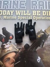Soldier Story MARINE RAIDERS U.S. MSOT 8222 OR Black Gloves loose 1/6th scale