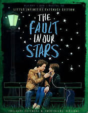 THE FAULT IN OUR STARS - Blu-ray/DVD/Digital HD, Little Infi - MINT NEW w CASE!!