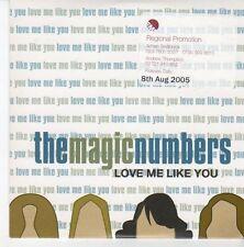 (EB720) The Magic Numbers, Love Me Like You - 2005 DJ CD