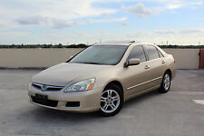 2006 Honda Accord EX Leather Sunroof Tinted Windows Power Seats LOOK