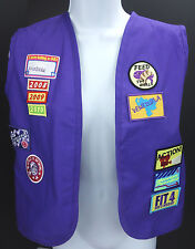 22 WMU Womens Missionary Union Children in Action Badge Patch Vest Youth Large S
