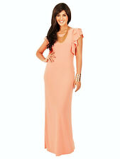 Evening dress,Maternity Suitable,Wedding Party Plus size Maxi,Butterfly Sleeve