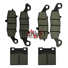 Front Rear Brake Pads for SUZUKI GSF600 Naked Bandit Katana SV650 GSX750 F