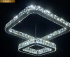 New Luxury LED Square K9 Crystal Pendant Lamp Ceiling Light Lighting Chandeliers