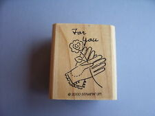 STAMPIN' UP RUBBER STAMPS FOR YOU FLOWER STAMP