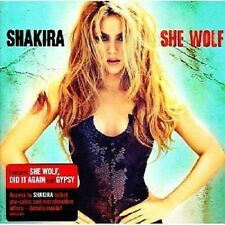 Shakira CD She Wolf - Neuware - incl. Gypsy & She Wolf