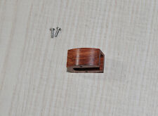 Exclusive wooden body for SHURE m70b m70ej Cartridge chassis legno Cocobolo Wood