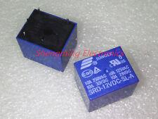 50pcs 4pins 12V SRD-12VDC-SL-A 10A 250VDC SONGLE Relay