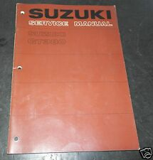 SR-3300 SUZUKI manuale d'ASSISTENZA  Originale  GT 380  Service Manual