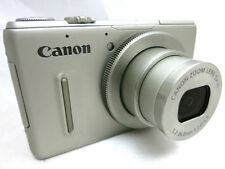Canon Powershot S100 12.1MP compact digital camera 5x lens *silver *superb