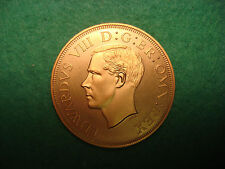 1937 south africa edward VIII bronze proof Pattern 5 shillings crown KM X1a