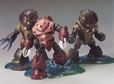 HCM Pro G-Box Gundam Jaburo attack Z'Gok + 2 Accuy action Figure Bandai