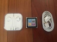 Apple iPod nano 6th Generation Silver (8GB) New