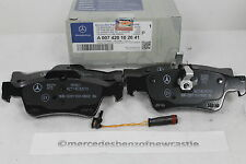 Genuine Mercedes-Benz C219 CLS REAR Brake Pads and Sensor A0074201020 NEW!