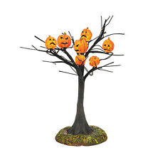 """Department 56 Halloween """"SCARY PUMPKINS LIT TREE""""  New in Box FREE SHIPPING"""