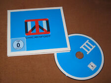 Chickenfoot III LIMITED EDITION WITH 3D GLASSES & 3D ART( VAN HALEN,JOE SATRIANI