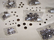 1500 gemagic SILVER GOLD CLEAR fashion studs stars refill set candle decoration