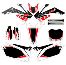 2009 2010 2011 2012 HONDA CRF 450R GRAPHICS KIT CRF450R MOTOCROSS  BIKE DECALS