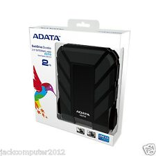 Brand New Adata DashDrive HD710 Waterproof USB 3.0 External Hard Drive 2TB BLack
