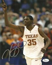 Kevin Durant Signed AUTO 8x10 Photo Texas Longhorns NBA MVP OKC Thunder COA JSA