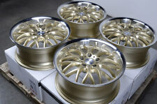 "17"" Wheels Rims Gold 5x112 E320 E550 S350 S430 Volkswagen Phaeton Passat Rabbit"