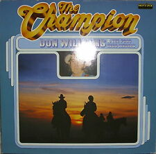 LP The Champion Don Williams& The Poso Sego Singers,NM,Cleaned ,Top,Marifon