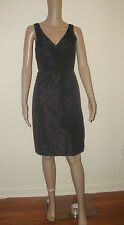 NEW J.Crew Little Black Dress Wedding Formal Sara Silk Taffeta 94433 Size 10 NWT