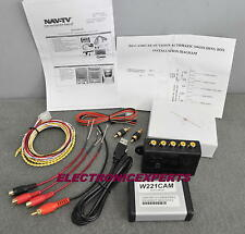 NAV-TV W221CAM KIT-111 Audio/Video Input and Backup Camera Interface for S550