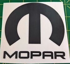 Mopar Logo - Vinyl Decal for Car, Truck, or Jeep