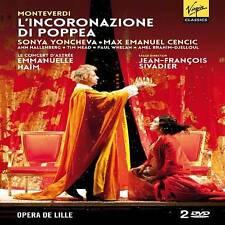 L'INCORONAZIONE DI POPPEA (OPERA DE LILLE) REGION 2 (NEW DVD)