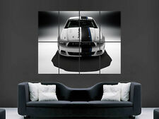 FORD MUSTANG COBRA MUSCLECAR SUPERCAR FAST POSTER WALL ART PICTURE  LARGE GIANT
