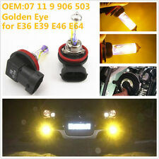 Yellow Golden Angel Eye H8 35W Xenon Halogen Fog Light Head Light Bulbs for BMW
