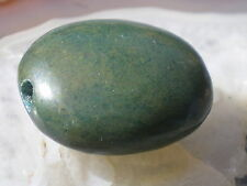 1 Wonderfull  Genuine old Green turquoise Bead From Nepal   27 cts !!