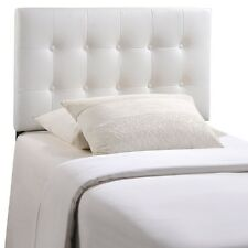 Lexmod Emily Twin Vinyl Headboard Category Bedroom Color White MOD-5177-WHI NEW