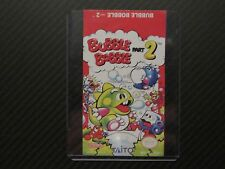 Bubble Bobble Part 2 Nes Replacement Game Label Sticker Precut