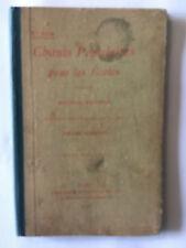 CHANTS POPULAIRES POUR LES ECOLES 1913 POESIES BOUCHOR PARTITIONS TIERSOT