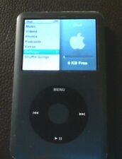 USED Apple iPod Classic 6th Generation Black A1238, 160 GB FULLY FUNCTIONAL