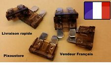 Lot de 5 fusibles 7,5 Amp 7,5A auto moto scooter automobile voiture 18x19mm 1-12
